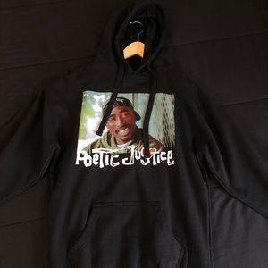 Black Tupac Hoodie Men